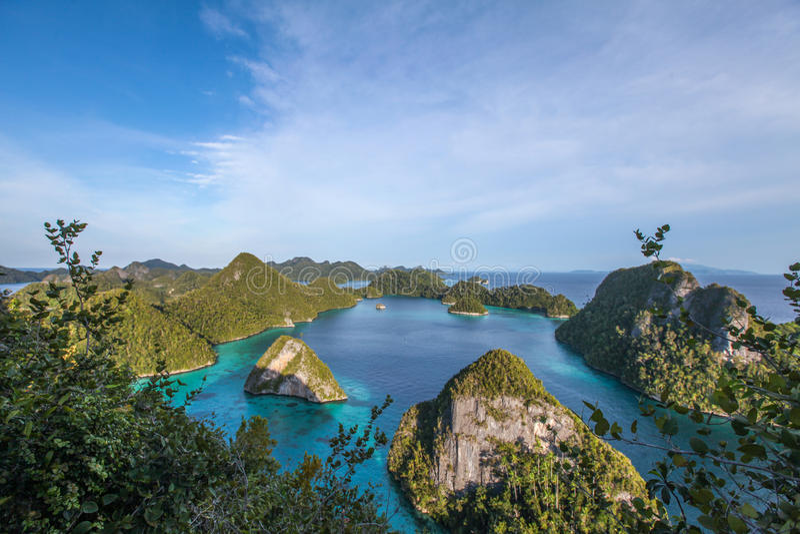 Raja Ampat. Last paradise on earth,west papua, island of New Guinea, the four kings stock photos