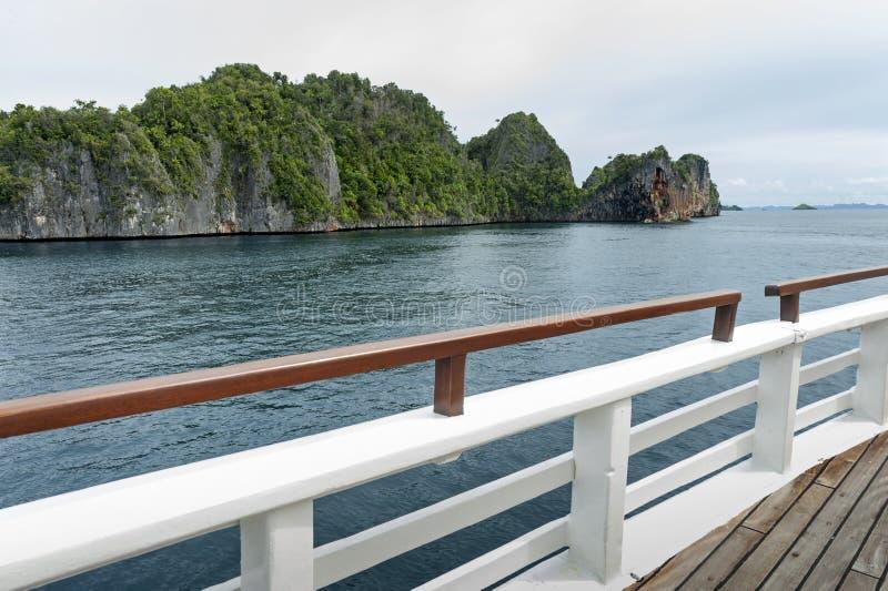 Raja Ampat, Papuasia ad ovest, Indonesia immagini stock libere da diritti