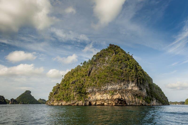 Raja Ampat, West-Papoea, Indonesië stock fotografie