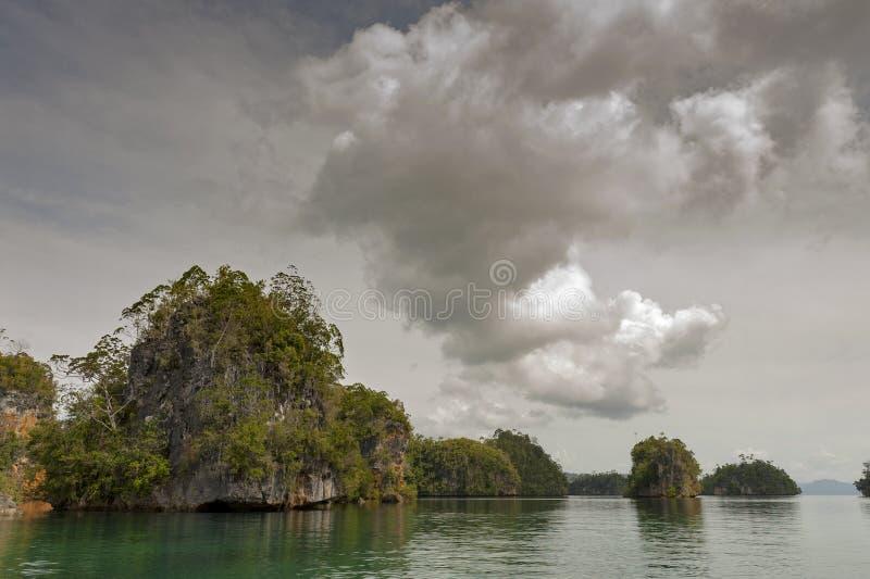 Raja Ampat, West-Papoea, Indonesië royalty-vrije stock foto