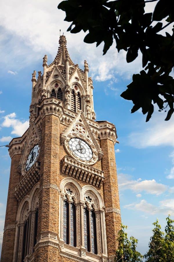 Rajabai Zegarowy wierza w Mumbai zdjęcie stock