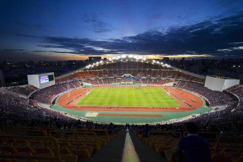 Rajamangla medborgare Stadium2 royaltyfri foto