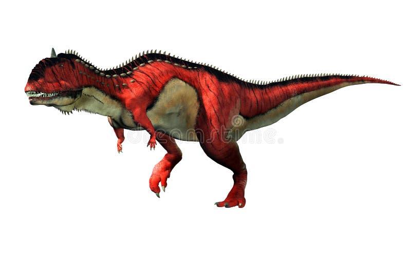 Rajasaurus ilustración del vector