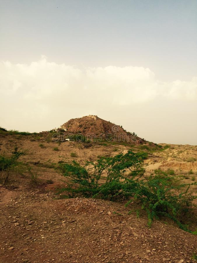 Mountain and natural background greentree. Rajasthan banetha picture mountain and natural background backgroundcolour greentree forest India pincod no 304024 stock photos