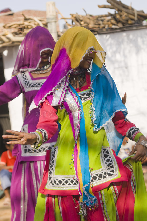 rajasthani χορευτών στοκ εικόνες με δικαίωμα ελεύθερης χρήσης