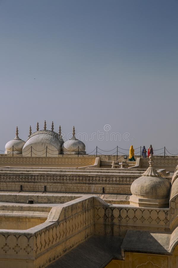 Rajasthani Architecture stock images