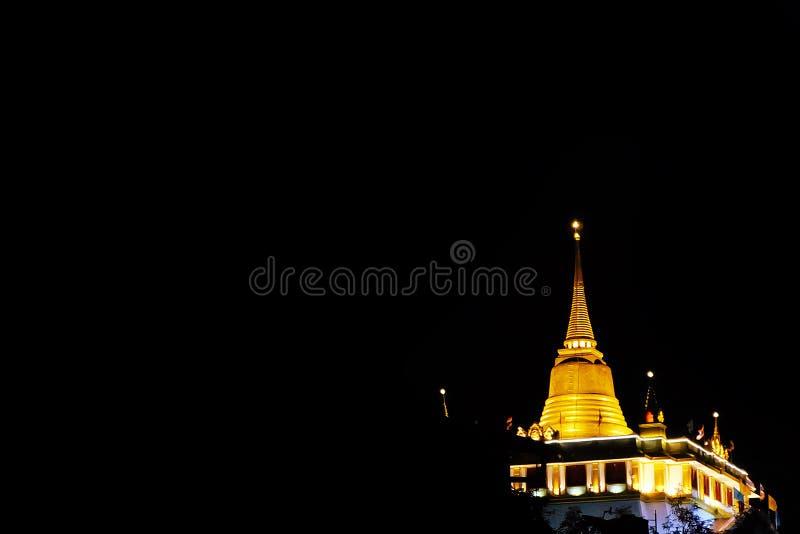 Rajavaravihara d'or de sraket de wat de temple de bâti photo stock