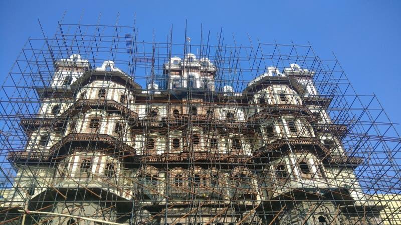 Rajbada slott av Holkars i Indore Madhya Pradesh royaltyfri foto