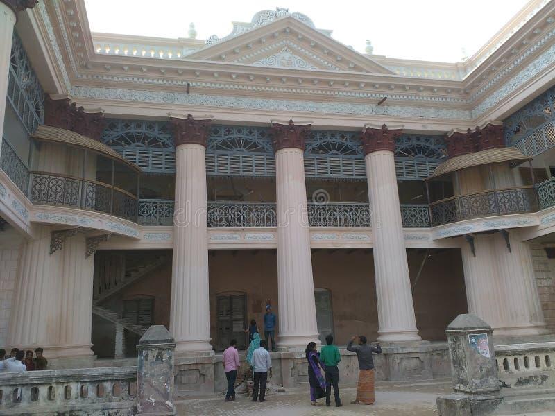 Rajbari lizenzfreie stockbilder