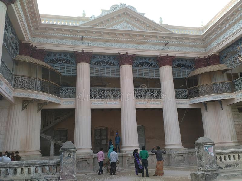 Rajbari royalty free stock images