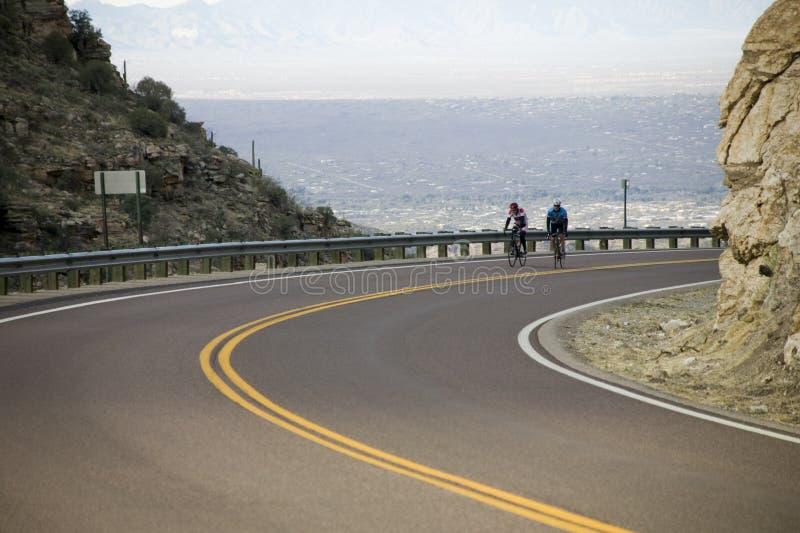 rajdowcy rowerów obrazy stock