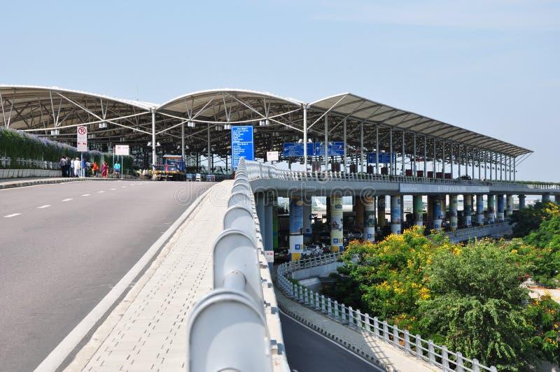 Rajiv Gandhi International Airport foto de stock royalty free