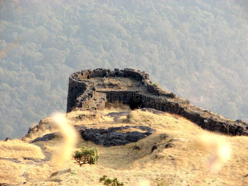 Rajmachi Fort stock photography