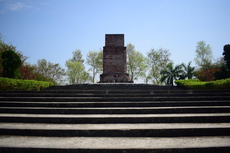 Rajshihi, Bangladesh, - avril, 14, 2018 : tuer le champ à l'université de rajshahi image stock