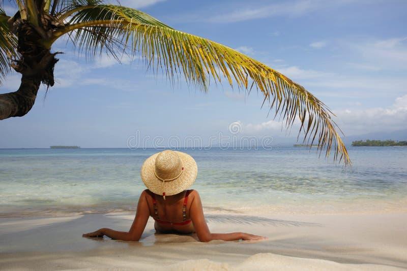 rajskiej wyspy obraz royalty free