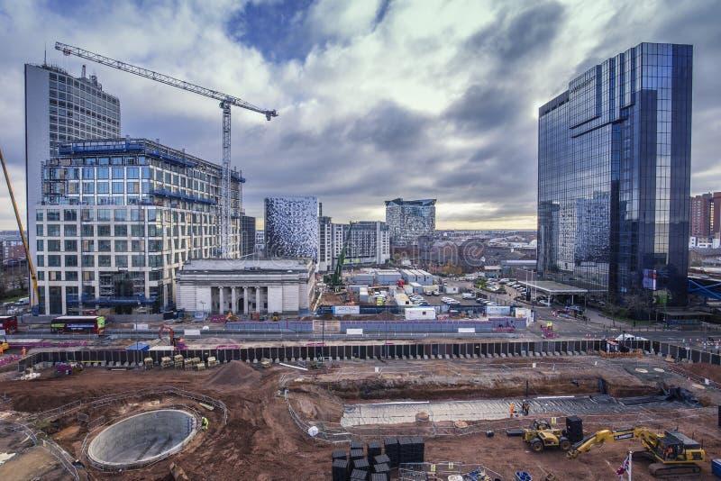 Raju projekt Birmingham w robić obrazy royalty free