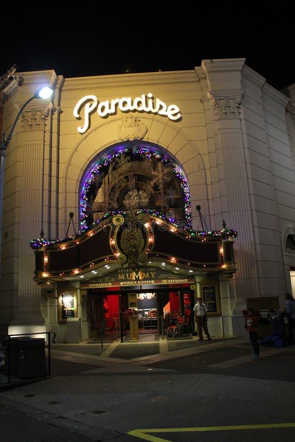 Raju teatr zdjęcie royalty free