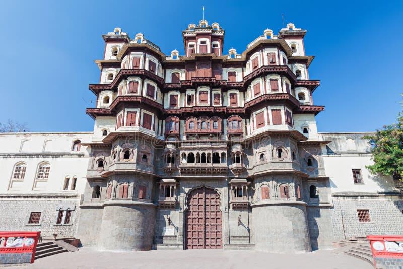 Rajwada slott, Indore arkivfoto