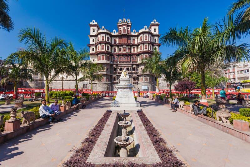 Rajwada slott, Indore royaltyfri foto
