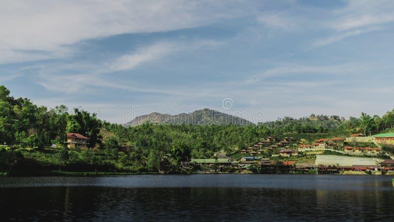 Rak de Baan tailandês em Mae Hong Son Tailândia fotografia de stock royalty free