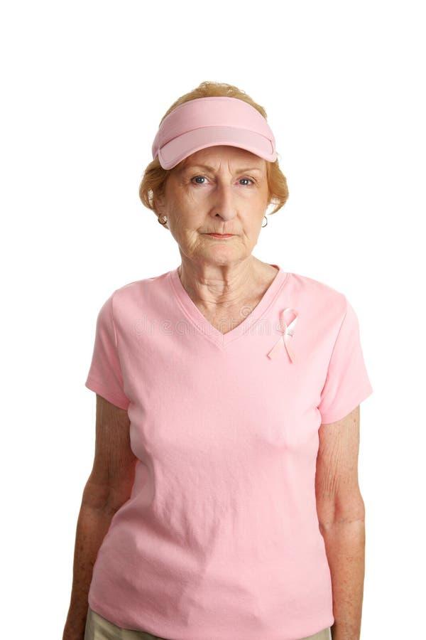 rak piersi poważnie zdjęcia stock