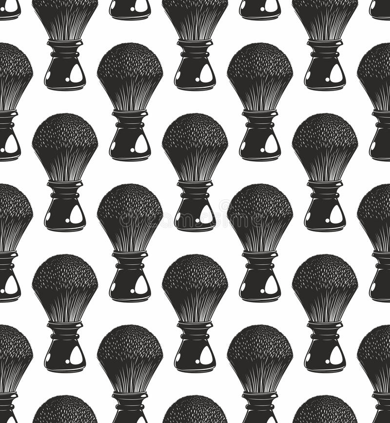 Raka borstebakgrund royaltyfri illustrationer