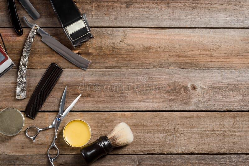 Raka rakknivar för borste och för tappning royaltyfri foto