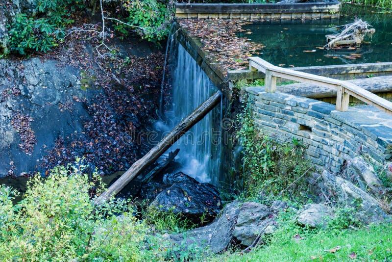 Rakes Mill Pond Dam stock images