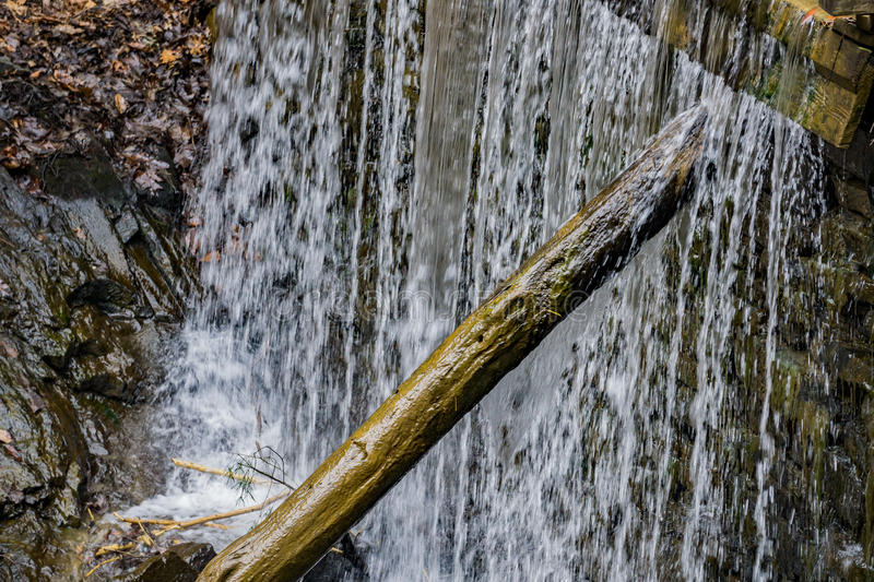 Rakes Mill Pond Dam royalty free stock images