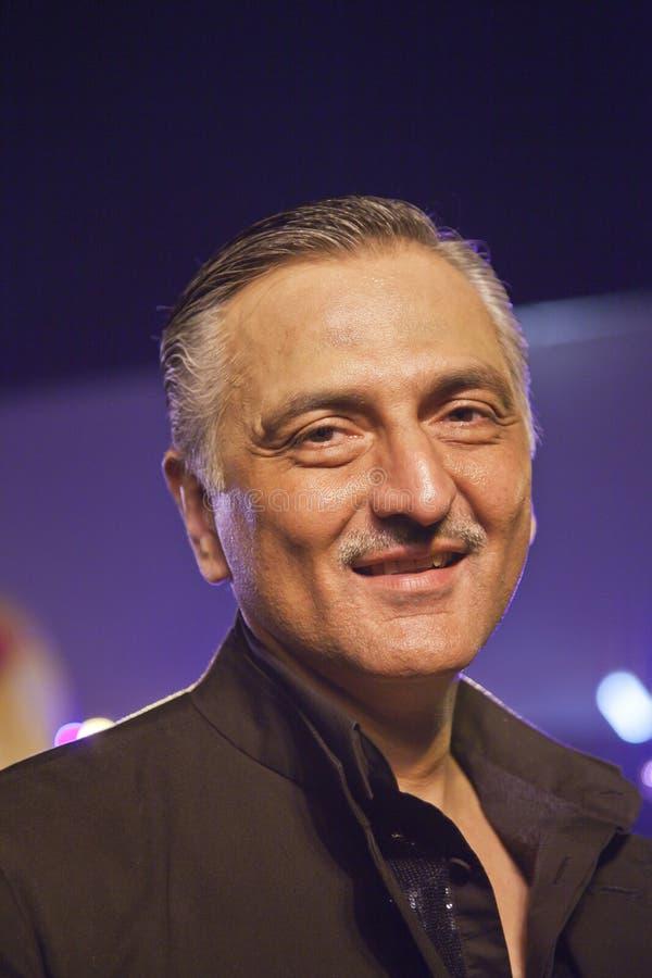 Rakesh Thakore på Chivas det Regal seminariet Mumbai royaltyfri foto