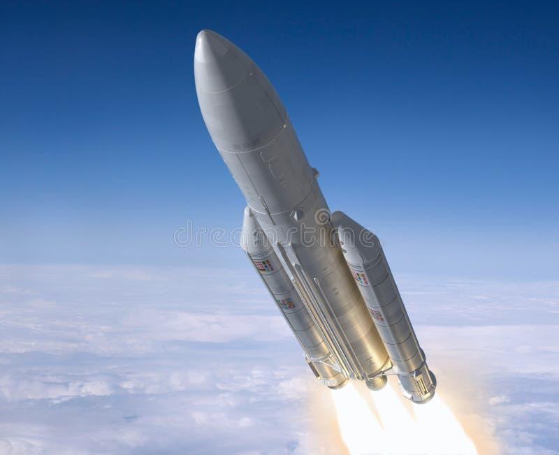 Raket. royalty-vrije illustratie