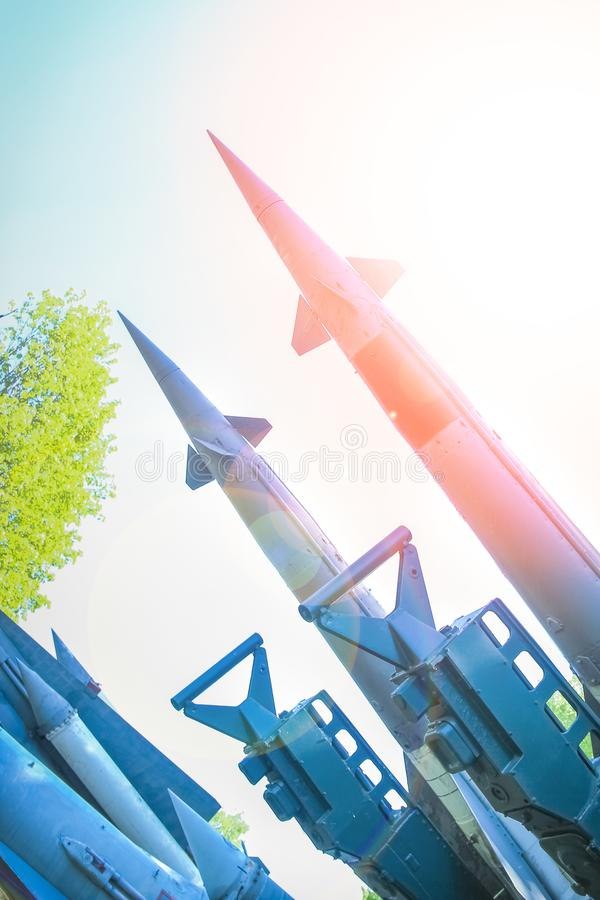 Raket i museet arkivfoto