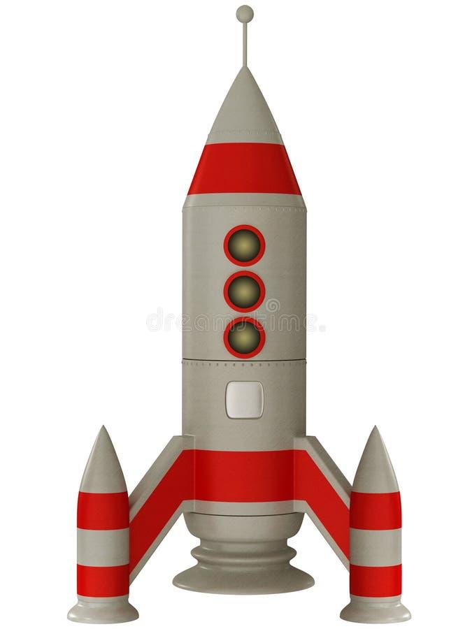 raketavstånd stock illustrationer