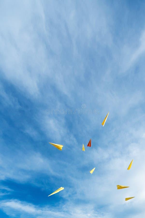 Raketdocument stock afbeelding