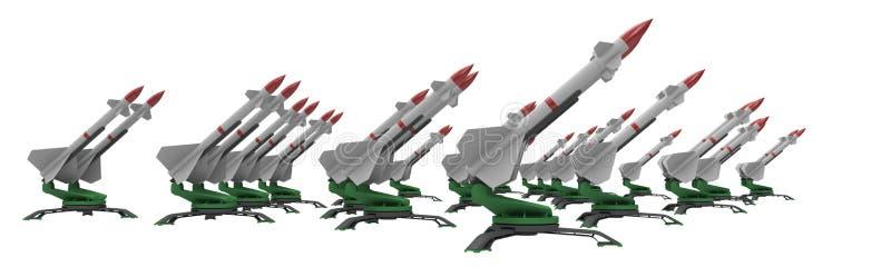 Raketen stock abbildung