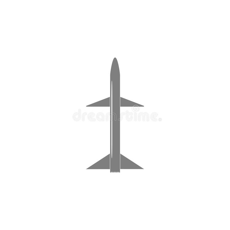 Raketpictogram royalty-vrije illustratie
