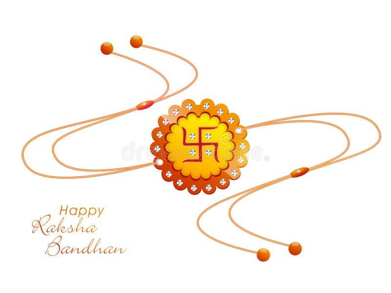 Download Rakhi Creativo Per La Celebrazione Di Raksha Bandhan Illustrazione di Stock - Illustrazione di indiano, famiglia: 56875136