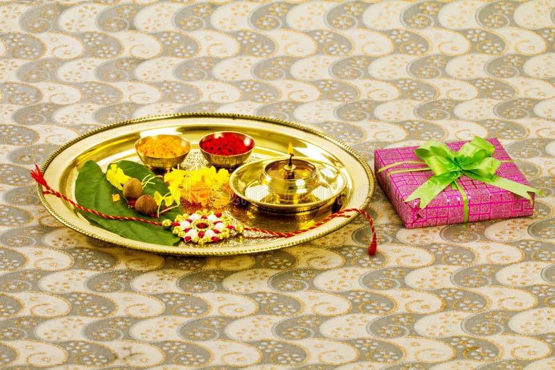 Rakhi de Raksha Bandhan fotos de stock