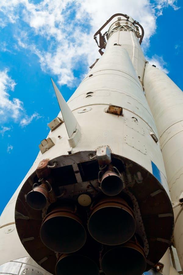 rakietowa przestrzeń obraz royalty free