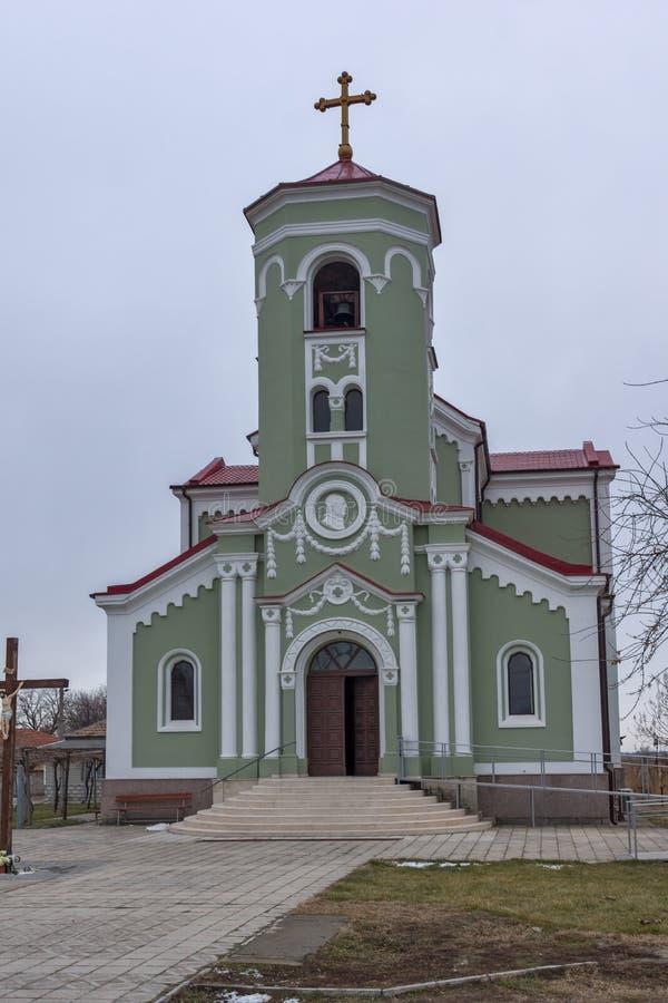 RAKOVSKI, BULGARIEN - 31. DEZEMBER 2016: Die Roman Catholic-Kirche Unbefleckte Empfängnis von Jungfrau Maria in der Stadt von Rak stockbild