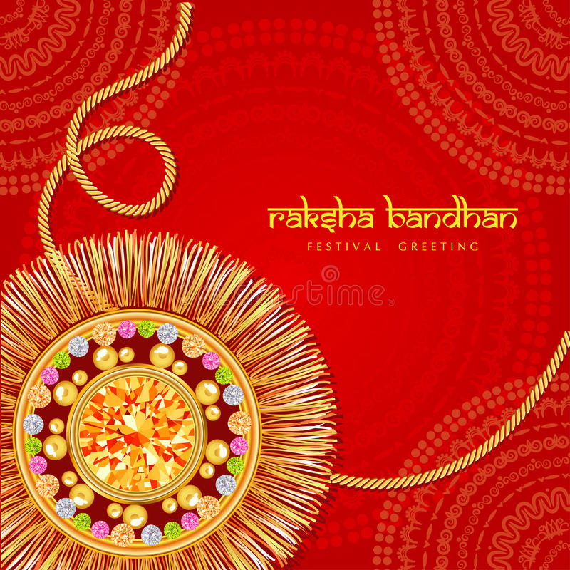 Raksha Bandhan vector illustratie
