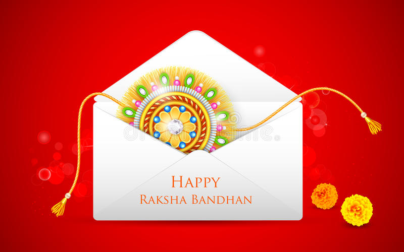 Raksha Bandhan stock illustration