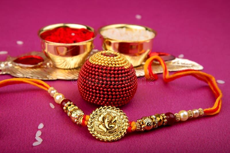 Raksha bandhan lub Rakhi, Indiański festiwal fotografia royalty free