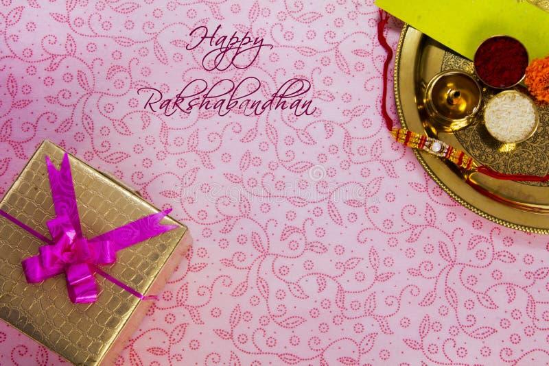 Raksha Bandhan rakhi zdjęcie stock