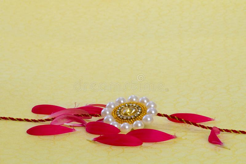 Raksha Bandhan rakhi zdjęcia royalty free