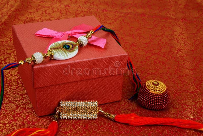 Raksha Bandhan of Rakhi, een Indisch festival voor broers en zusters royalty-vrije stock afbeelding