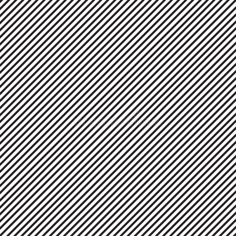 Raksträcka diagonal, sneda linjer royaltyfri illustrationer