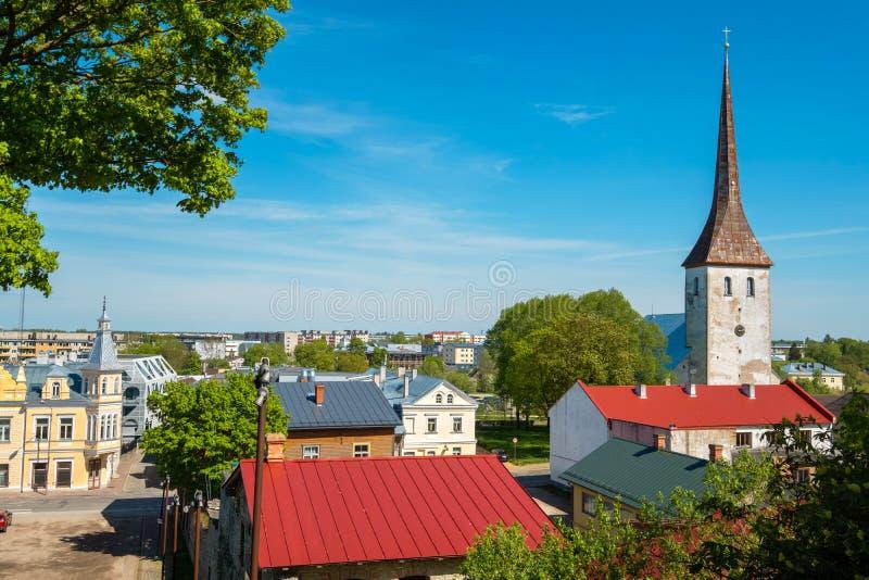 Rakvere miasteczko Estonia, UE obrazy stock