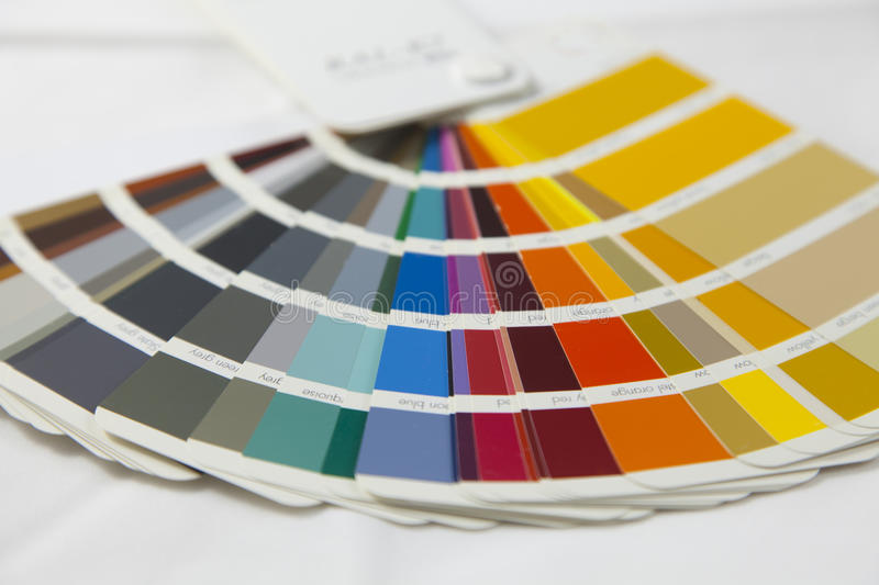 Download RAL catalogue stock photo. Image of chart, colorwheel - 27567358