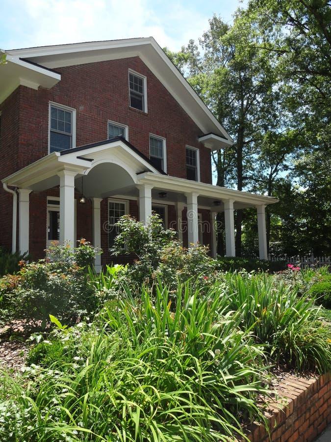 Raleigh, дом Северной Каролины стоковое изображение